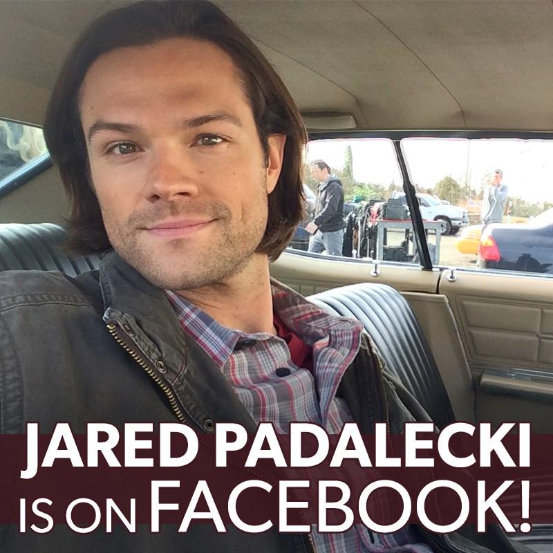 «Не спугните лося!»   Джаред Падалеки завел аккаунт в Facebook