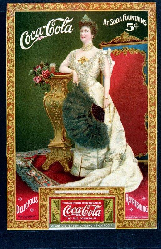 Lillian Nordica, Coca-Cola starting in 1904.