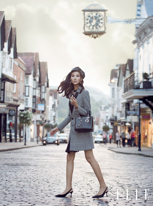 Хоанг Туи (Hoang Thuy) в журнале Elle Vietnam