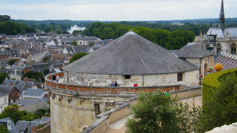 Замок Амбуаз, Франция ( Castle of Amboise, France )