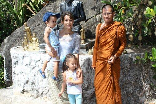 Фотография с монахом