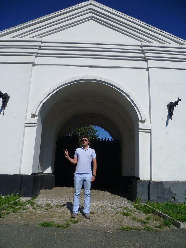 Старые ворота в Семипалатинске (Old gate in Semipalatinsk)