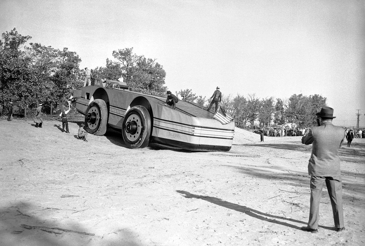 Снежный крейсер: История одного неудачного американского проекта по исследованию Арктики (1939 год) (3)