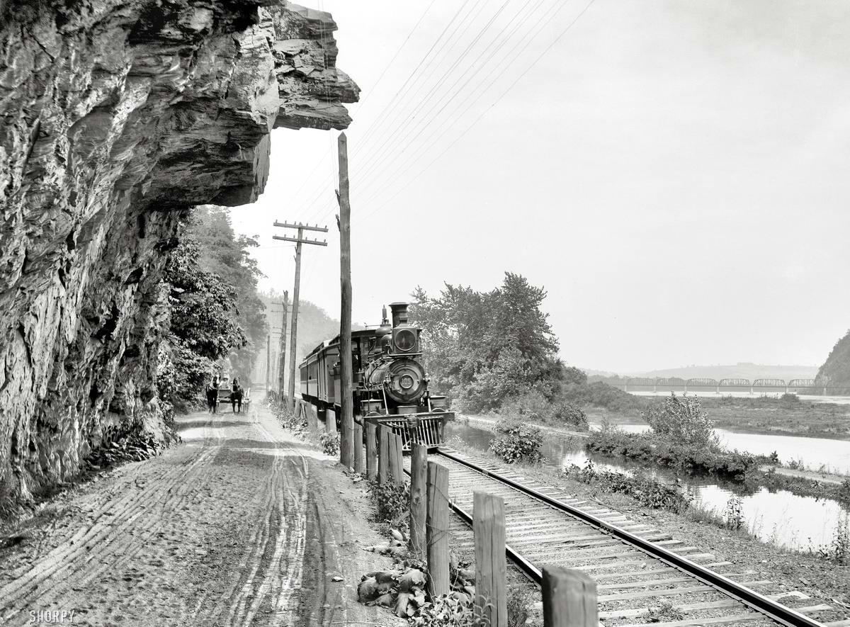 Железные дороги конца 19-го - начала 20-го века на снимках американских фотографов (33)