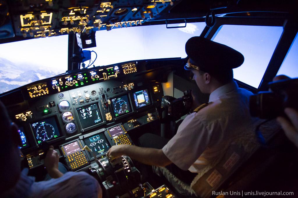 Симулятор самолета Boeing-747NG