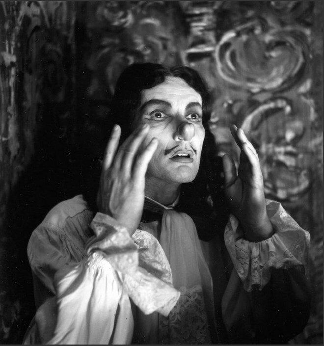 1960. Жан-Луи Барро в «Маленькой госпоже Мольер» Ануя в Одеон
