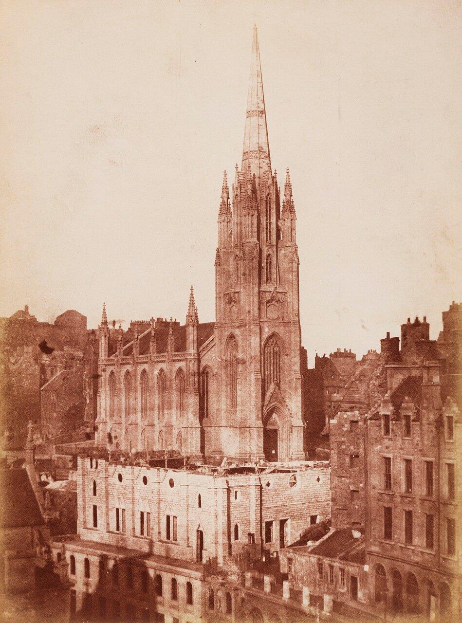 1848. Зал Генеральной Ассамблеи Свободной Церкви, Эдинбурга