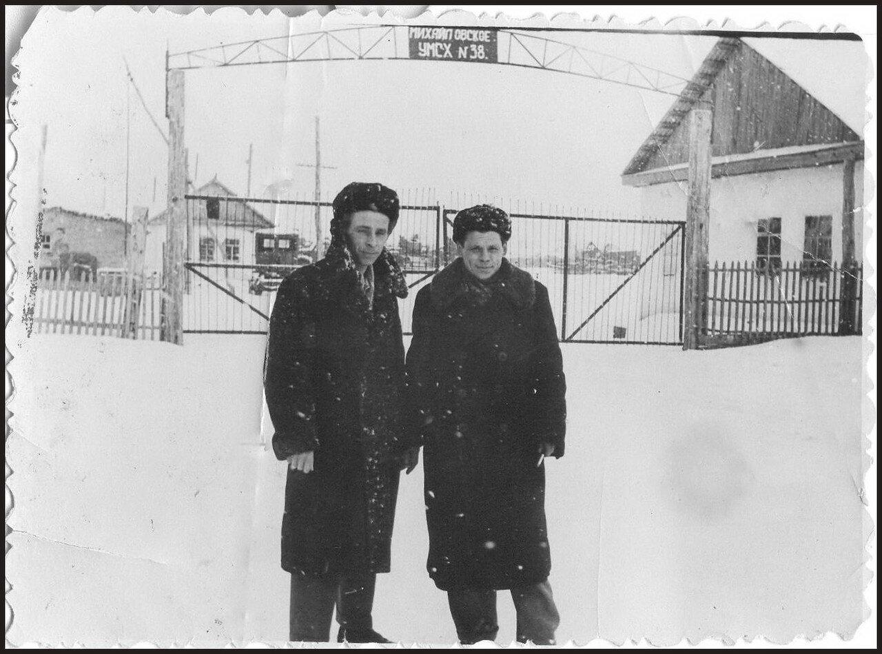 Северный Казахстан,Павлодарский район, Михайловское училище механизации сельского хозяйства, 1961-1962