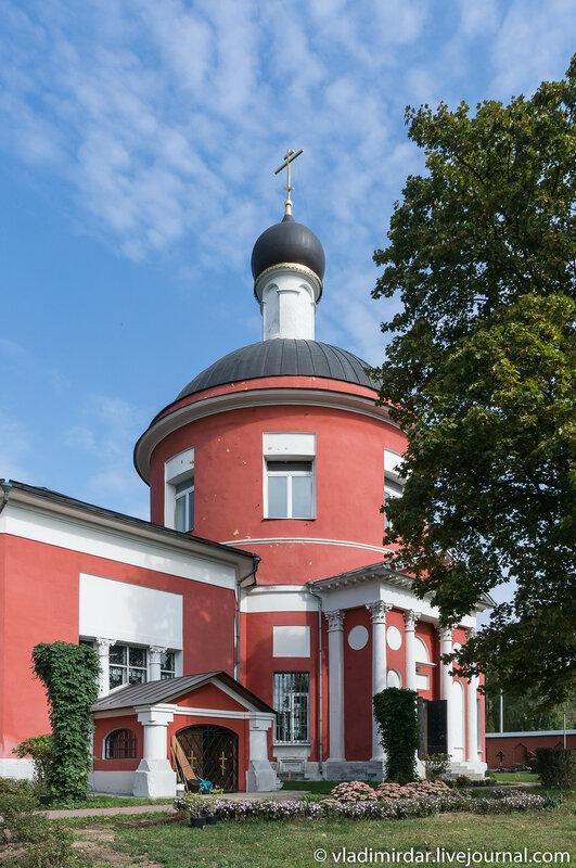Петропавловская церковь в Петровском