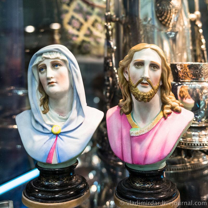 Мария и Иисус. 18 век.