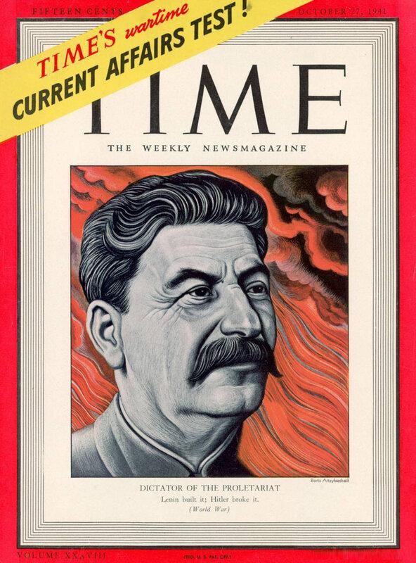 Иосиф Сталин, журнал ТАЙМ, полководцы Красной Армии, военачальники Красной Армии