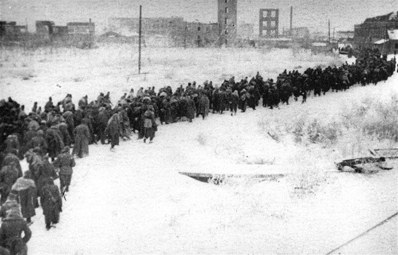 пленные немцы, Сталинградская битва, сталинградская наука, битва за Сталинград, немцы в советском плену
