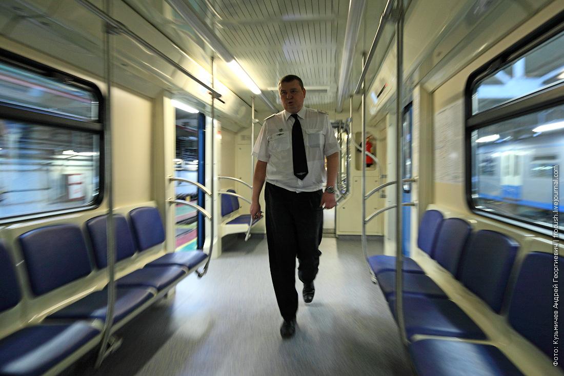 вагон метро машинист поезда 81-760А фото