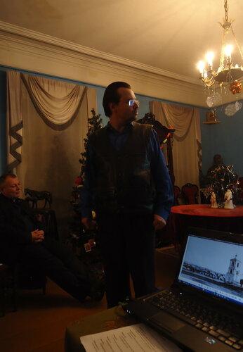 Рамиль Рахимов и Павел Егоров на вечере в Мемориальном доме-музее С.Т.Аксакова