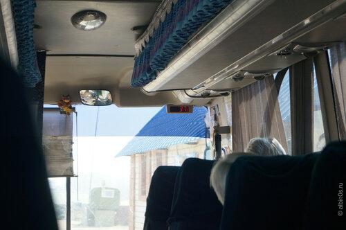 Пекло в автобусе