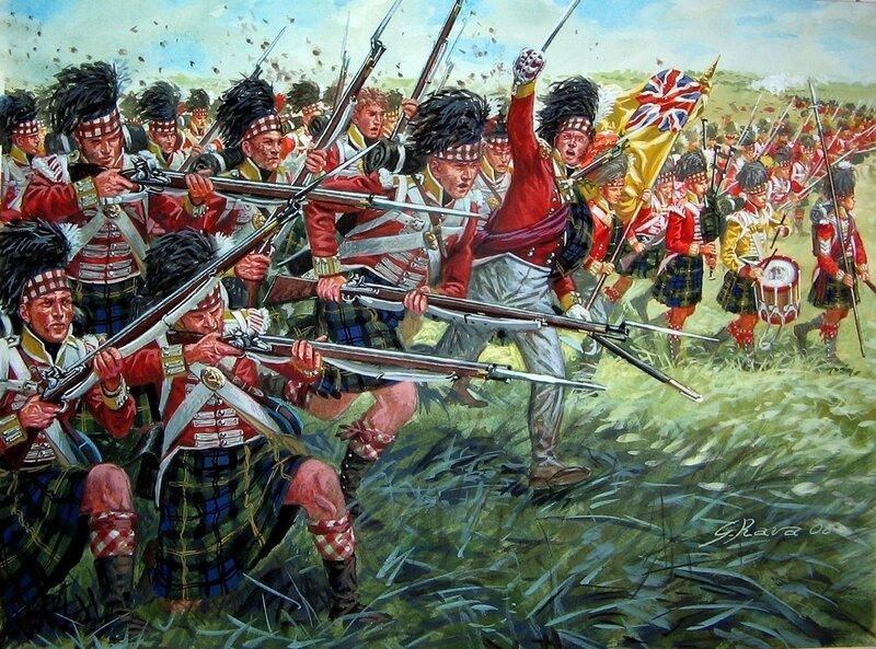 1815 Waterloo 92nd Foot (Gordons).jpg