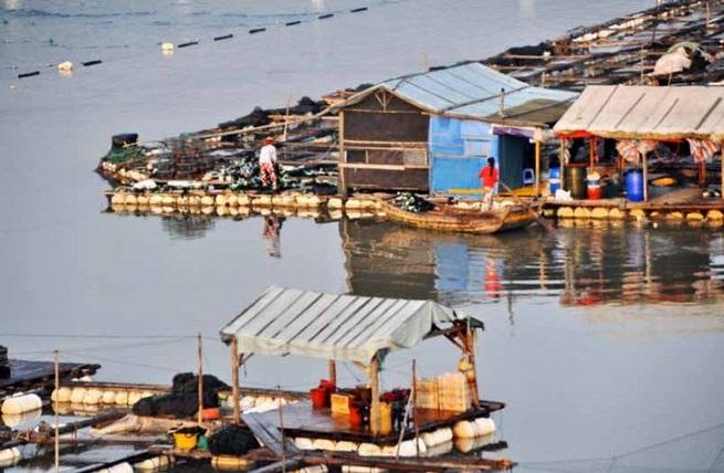 Плавающий город «морских цыган» в Китае 0 11e9ea 19f1800f orig