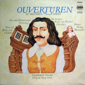 Ouvertüren zu heiteren opern (1986) [ETERNA, 7 25 158]
