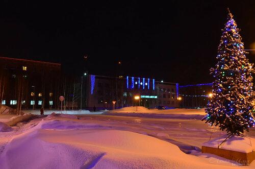 Фото города Инта №7421  Мира 25а, Горького 14 и 21 18.01.2015_16:21