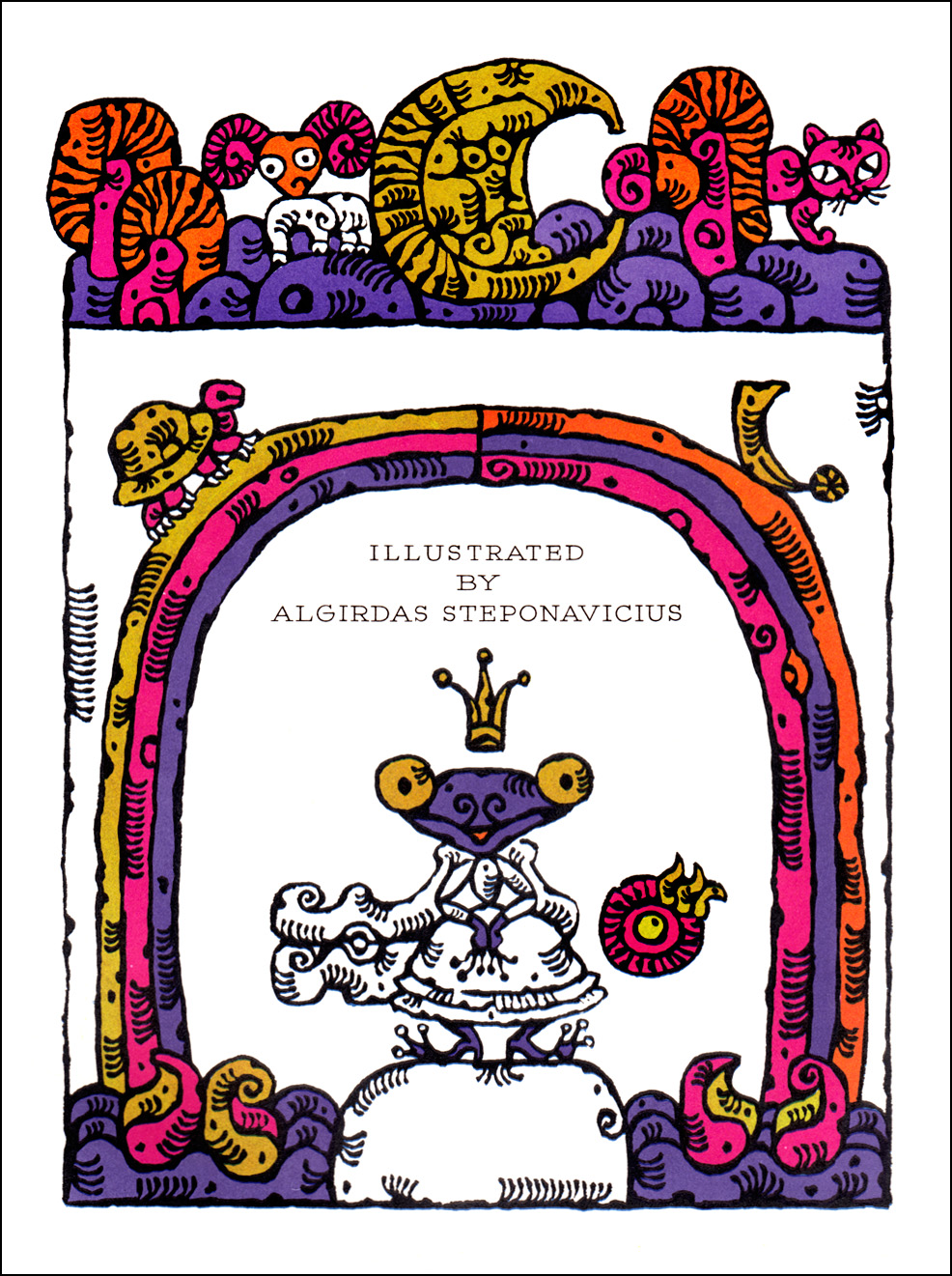 Algirdas Steponavicius, The Frog Queen