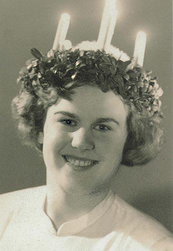 Lucia Gun-Britt Nygård, 1951.