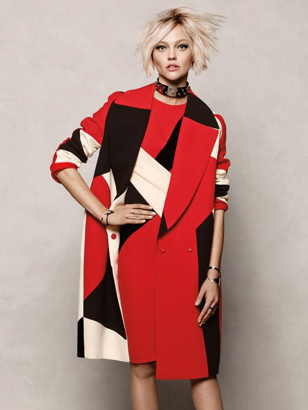 Саша Пивоварова (Sasha Pivovarova) в журнале Vogue Korea (9 фото)