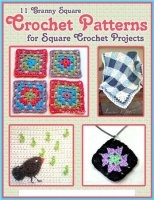Книга 11 Granny Square Crochet Patterns for Square Crochet Projects jpg  24,91Мб