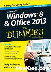 Книга Windows 8 and Office 2013 For Dummies