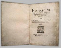 Книга Extraordina(RIO LIBRO DI ARCHI-TETTVRA DI SEBASTIA)