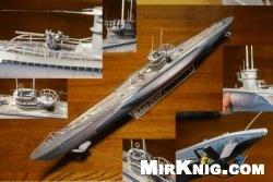 Журнал German submarine U-96.
