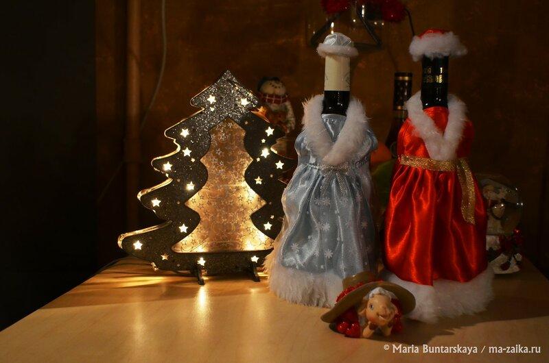 Новогодний стол, Саратов, 31 декабря 2014 года