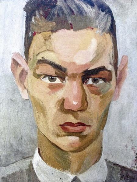 Hans Erni. Автопортрет