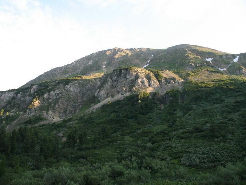 Окрестности перевала Чойган