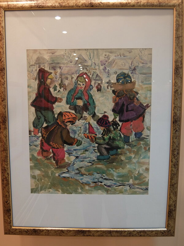 Абакан - Картинная галерея - Детский рисунок