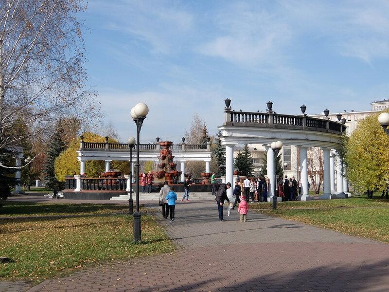 Воспоминания об осени - Сад металлургов