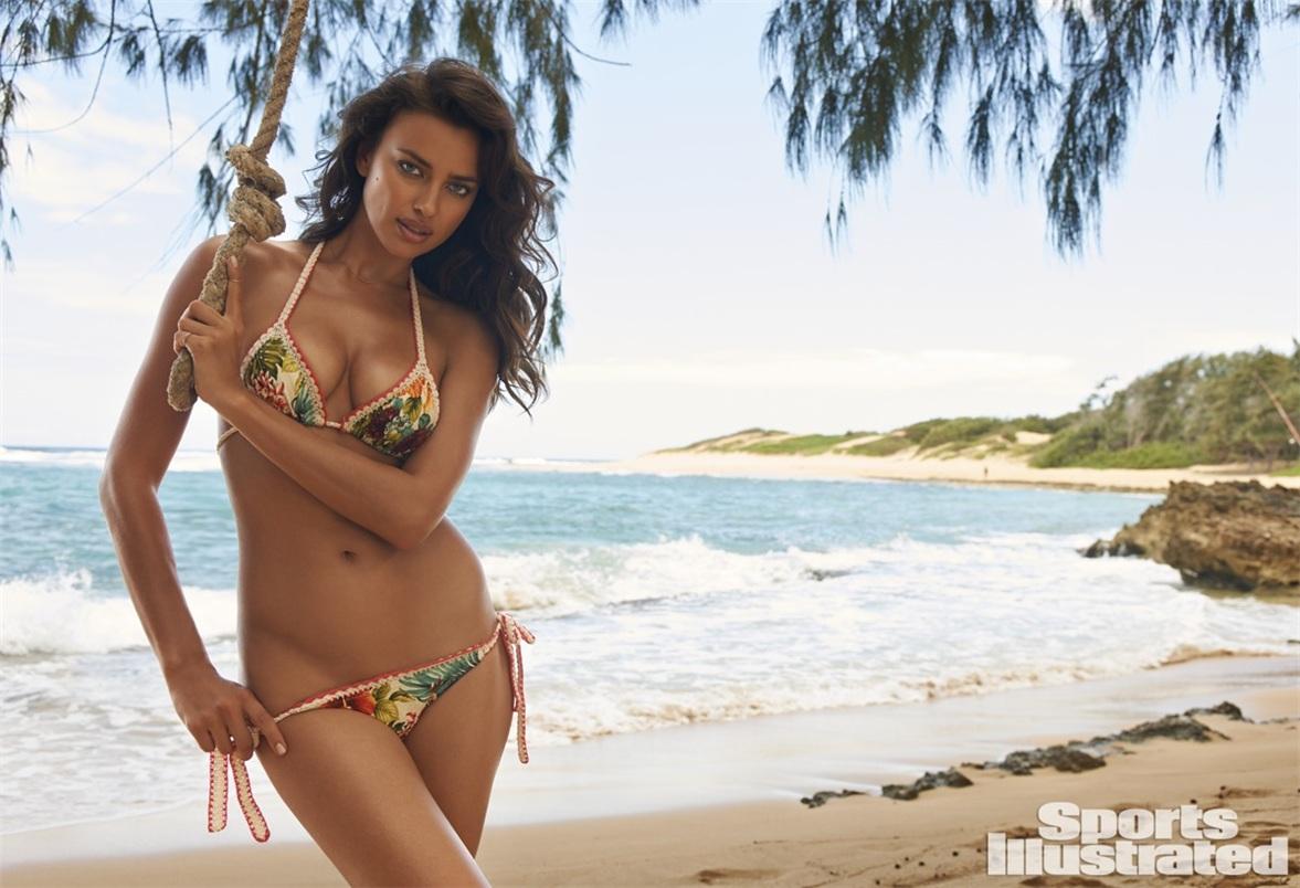 Ирина Шейк в купальниках Sports Illustrated Swimsuit 2015 - Irina Shayk by Yu Tsai in Kauai