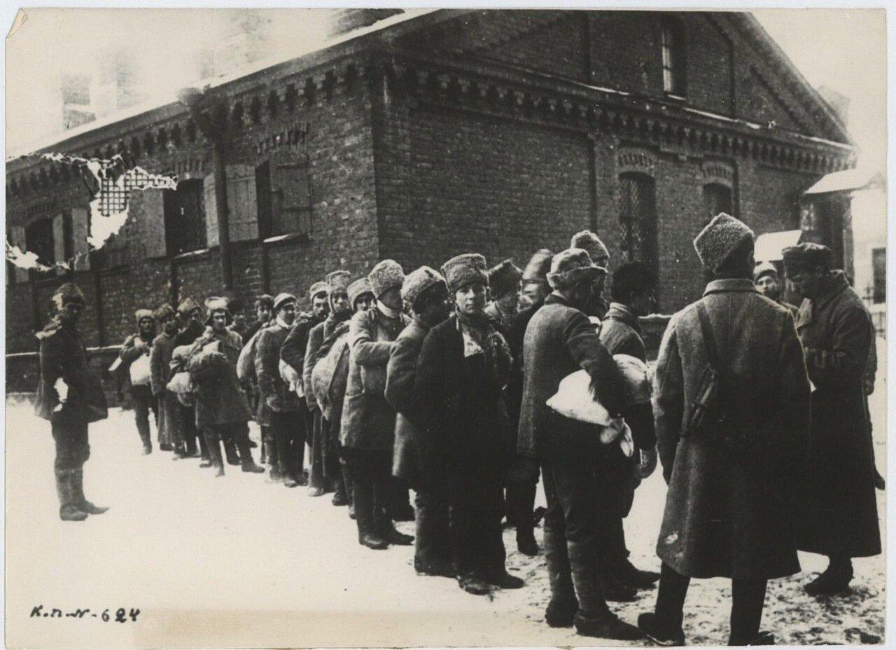 1918. Формирование полка деревенской бедноты.