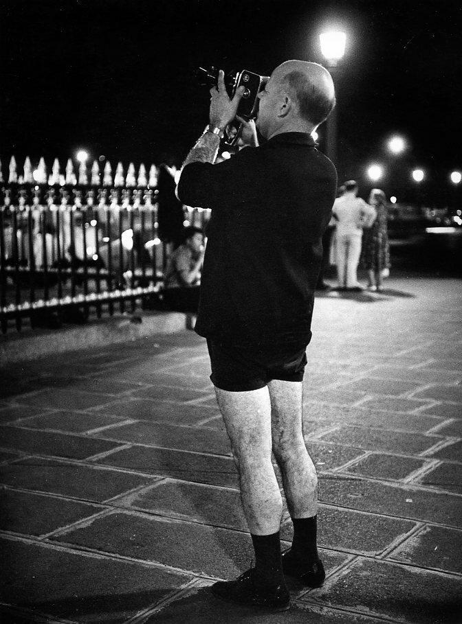 1953. Фотограф на площади Согласия