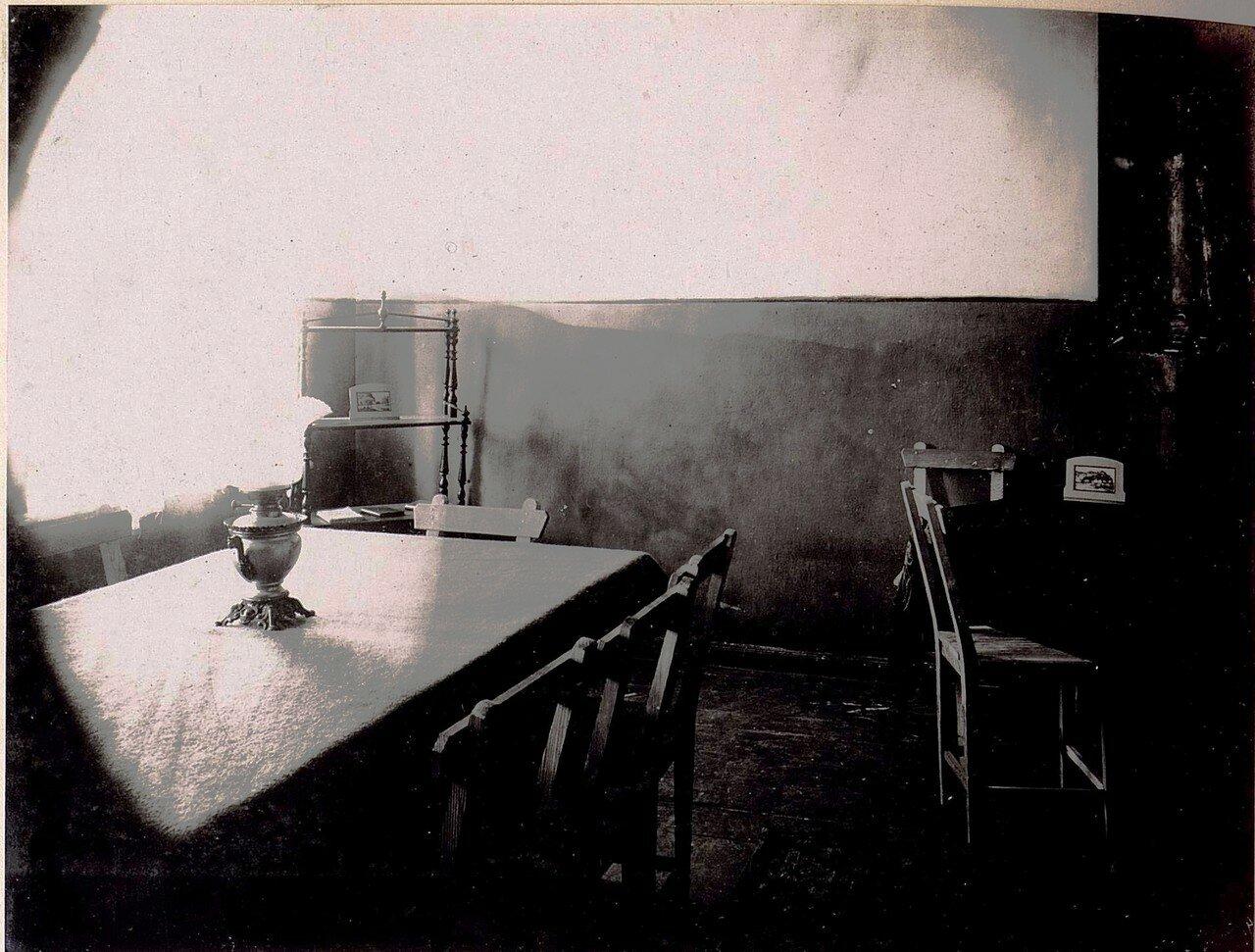 Институт Благородных Девиц. Интерьер. Столовая (1/IV.1918)