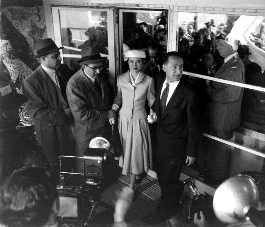 1956. Грейс Келли в Монако
