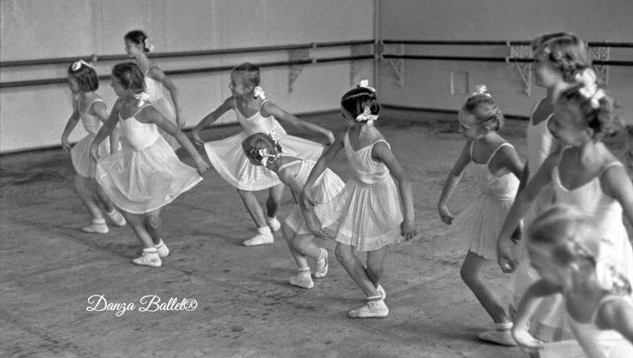 1954. Москва. Школа танцев