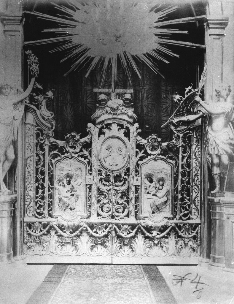 Внутренний вид Церкви Спаса-на-Сенной