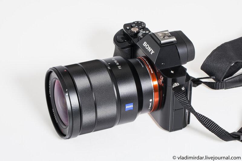 Фотокамера A7R с объективом Sony FE 16-35/4 CZ T*