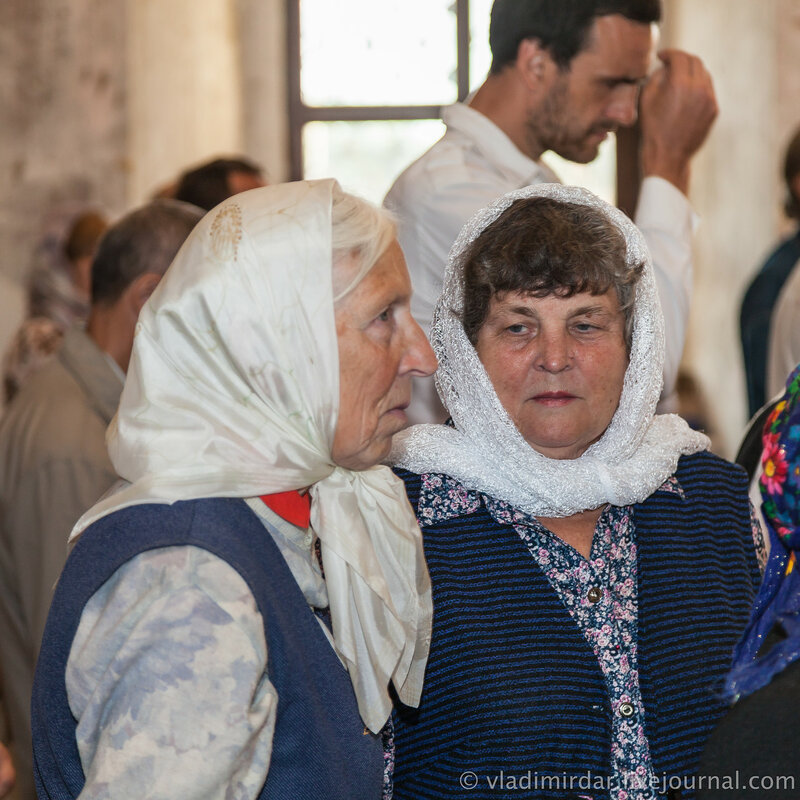 Старожил села Кистыш, смотритель храма - Чувашова Лидия Сергеевна