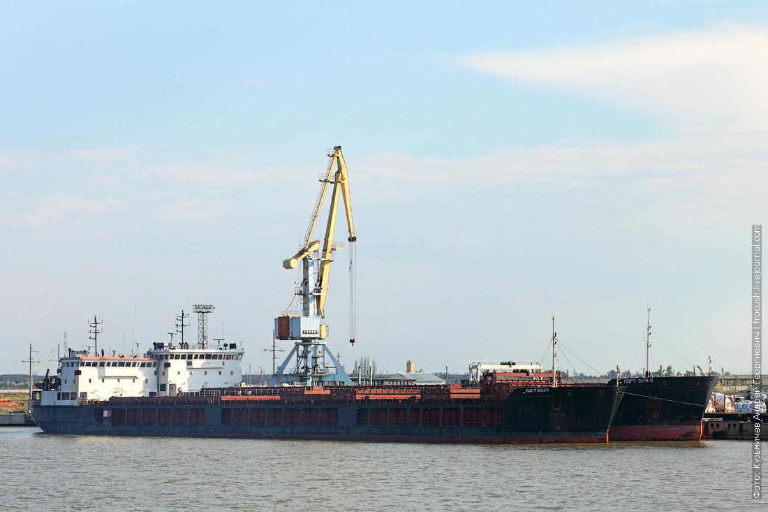Сухогрузы Порт Оля-3 2011 года постройки Порт Оля-2