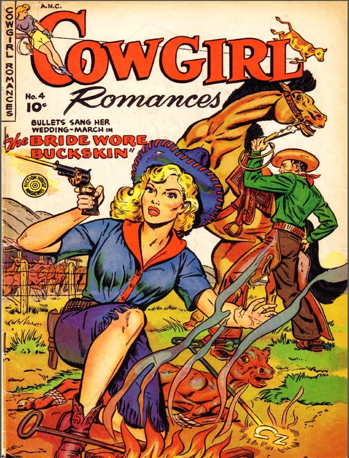 Cowgirl Romances #4 (1951).png