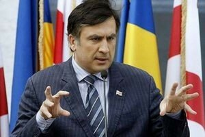 Саакашвили поддержал антиолигархический протест в Молдове