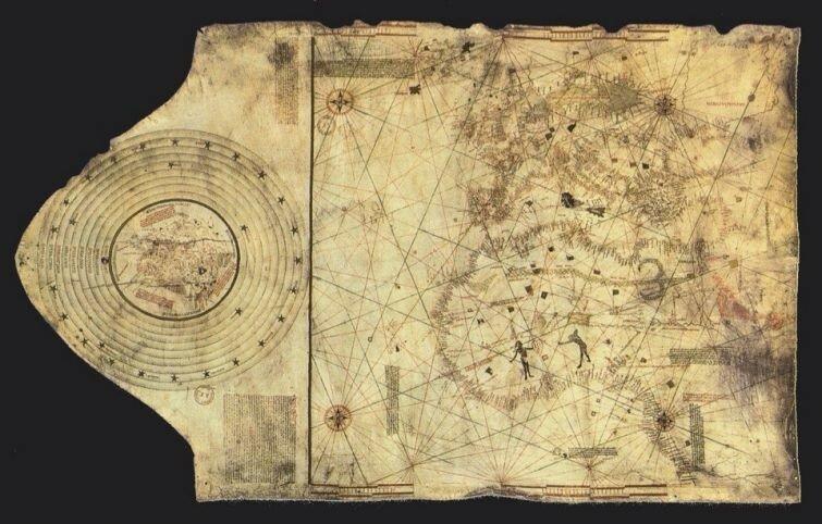 Карта Христофора Колумба, ок. 1490 г..jpg