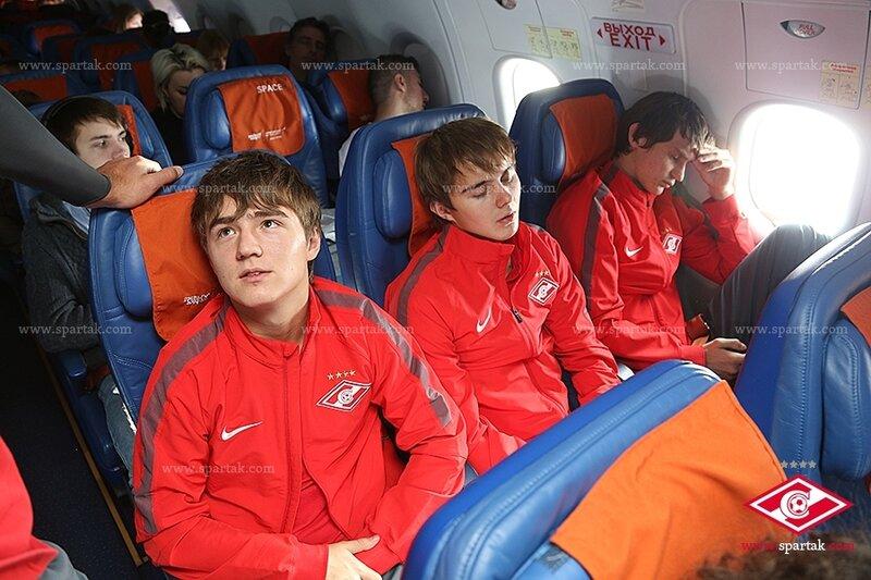 Спартаковцы прилетели в испанскую Марбелью и начали тренировки (Фото)