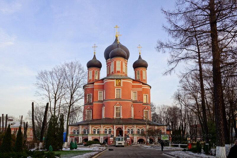 Большой («Новый») собор Донской иконы Божией Матери Донского монастыря , Москва